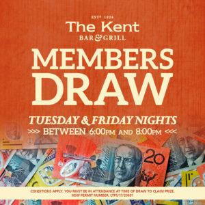 Member's Draw